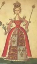 Joan Beaufort (lived 1404 – 15 July 1445) was the Queen Consort of Scotland from 1424 to 1437 as the spouse of King James I of Scotland. Daughter of John Beaufort, 1st Earl of Somerset, and Margaret Holland and half-niece of King Henry IV of England. During part of the minority of her son James II (from 1437 to 1439), she served as the Regent of Scotland. Married second Sir James Stewart, the Black Knight of Lorn in 1439.