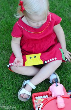 Hungry Hungry Hippo with Frances Suzanne - make your own color-blocked piping