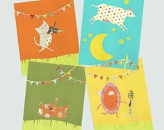 Prints for Hey Diddle Diddle, The Cat and the Fiddle