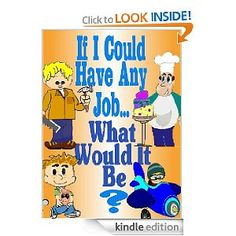 FREE KINDLE BOOK - - - A young boy explores the idea of what he will be when he grows up. Will he be a painter, a pilot, a chef, or a racecar driver? - - - - - By Christina Weimer
