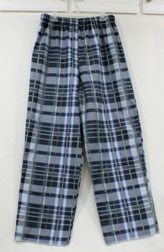 Mens Plaid Flannel Pajama / Lounging Pants handmade by BubusCollections