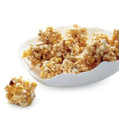 """Spicy Popcorn Balls -- A smart update for popcorn balls: chipotle-spiked caramel."""