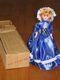 Blue Bonnet Blue Bonnet Sue Vintage Doll Plastic