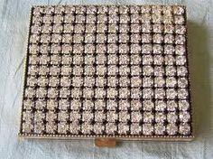 Schildkraut 168 Rhinestone Vintage Powder Compact