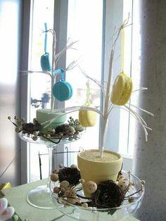 Macarons display