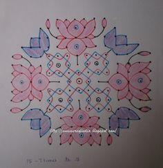 Blue N Pink Lotuses