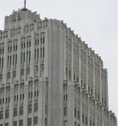 An art deco masterpiece: Pacific Telephone & Telegraph Building - 140 New Montgomery Street, San Francisco