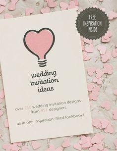 wedding invite ideas.