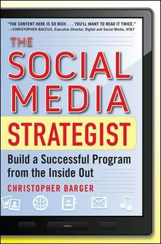 "Geared for the corporate communications side of a bigger company, this book takes you through the steps of building a social media strategy into the infrastructure of your business. With collaborative effort of all the stakeholders in the organization and the leadership of a social media ""evangelist"" backed up by an executive champion, you can develop a comprehensive social media policy, usage guide and an education plan for your organization that will work successfully from the inside out."