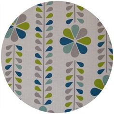 Dan Stiles for Birch Fabrics Organic, Mod Squad, Stem Stripe Grass