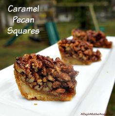 Caramel Pecan Square