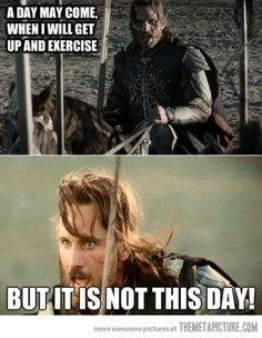Wise words from Aragorn