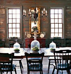 Old World Dining Room