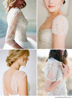 Oh So Elegant & Embellished Sleeves | Flights of Fancy