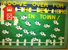 Moo-ve Over for the New Herd in Town BB