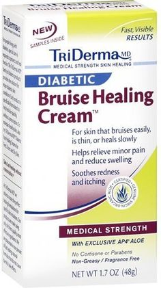 Triderma Diabetic Bruise Heal Cream 1.7 OZ by Triderma. $7.99