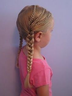 Great back to school hair. Braids | Kenra Professional Kids Hairstyle Inspiration