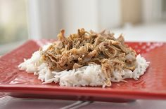 Kahlua Pork by yourhomebasedmom.com  Done in the crockpot - super easy and delicious  #crockpot  #pork