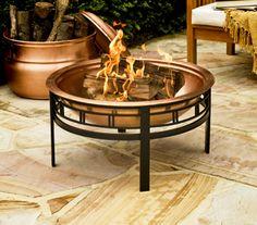 Win a CobraCo® Copper Mission Fire Bowl!