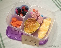 School lunch ideas. Keeley McGuire: Lunch Made Easy: 20 Non-Sandwich School Lunch Ideas for Kids!
