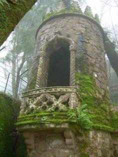 castl, window, towers, dream, ruin, fairy tales, place, garden, rapunzel
