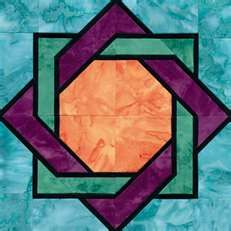 Beautiful.  Very similar to the block I've been looking for, for my shower curtain quilt.