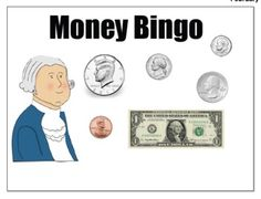 SMARTBoard President's Day Money Bingo