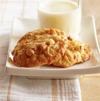 Coconut Walnut Cookies #dessert