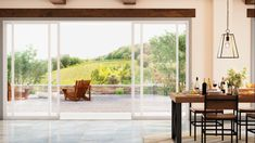 If you've been looking for a modern vinyl patio door, the new Trinsic Series is for you. With the maximum available viewable glass area, you'll enjoy amazing views outside. Plus, the low-profile hardware, uniquely designed for this series, practically disappears from view. With its sleek and contemporary style, Trinsic Series can satisfy your desire to embrace modern home design. #slidingglassdoor #patiodoorideas #vinylpatiodoors #modernpatiodoor
