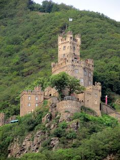 Sooneck Castle along the Middle Rhine River, Germany