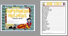 superhero classroom theme pictures - Google Search