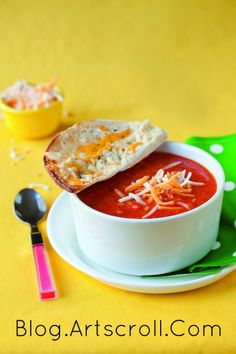 pizza soup - Recipe from Kids Cooking Made Easy
