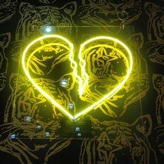 Neon broke my heart. Seen at ICFF 2014 #ICFF