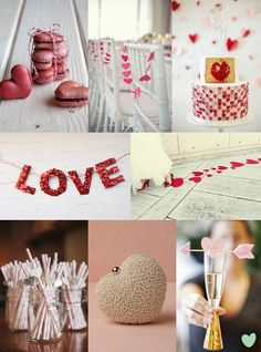 Valentine's Heart Ideas from The Wedding Community