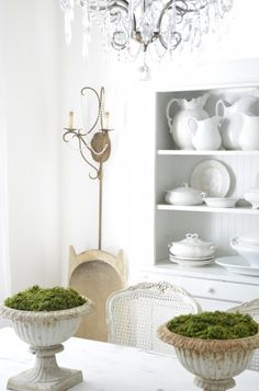 25 Cool Ideas To Decorate Your Home With Moss | Shelterness