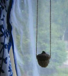Covered Acorn Necklace - Tutorial