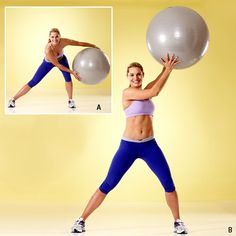 Sculpt abs FAST with this Figure 8 Lunge move - simple and effective! #fitness #flatbelly