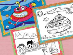 Print these pages for some coloring fun! Go on an adventure in the Bookmobile or have a tea party with Brownie Elf and her friends! Support stories in the girls' books, and help girls choose a Journey.