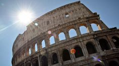 """The Travel Channel 2013 Photo Contest Winners. """"Sunshine over the Colosseum! My adventure to the Mediterranean this Summer was life-changing. I was captivated by the history and beauty of several of the amazing sites throughout Italy, Greece and Turkey!"""" -- Sable's Travels"""