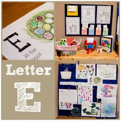 Home #Preschool Letter E