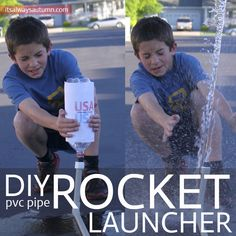 DIY pvc pipe rocket launcher
