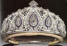 Princess Marie-Louise's Indian tiara made by Cartier.