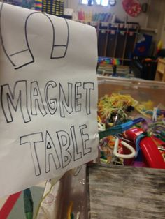 A magnet table