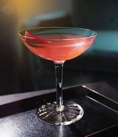 Grey Goose L'Orange Winter Sangria Martini cocktail with a burst of fresh fruity flavor.