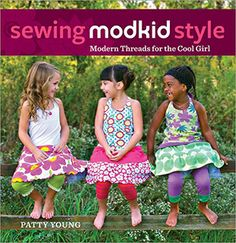 true up's knit fabric sources, and of course review of sewing modkid style book