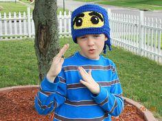 Ravelry: NinjaGo! Hat pattern by Kimberlie Goodnough $3