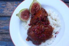 Jamie Oliver's Pomegranate and Chicken Stew