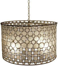 Oly---serena drum chandelier
