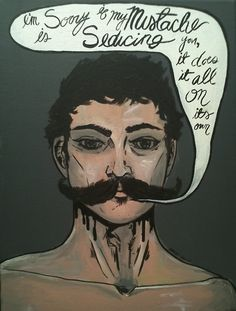 seduced by the stache
