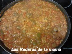 Las recetas de la Mama: Receta de Arroz con Verduras